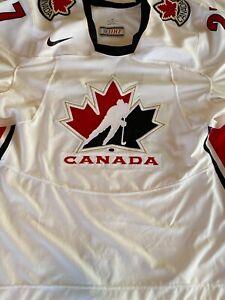2006 IIHF Team Canada Dan Boyle Issued Hockey Jersey Sz60 from Torino Olympics