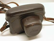 LEICA ORIGINAL LEATHER EVEREADY CAMERA CASE..FITS EARLY M MOUNT BODIES..LA3