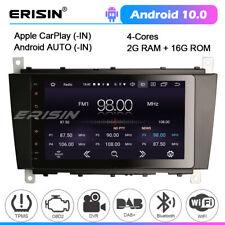 Android 10 Car Stereo Sat Nav Head Unit Radio Mercedes C CLC CLK Class W203 W209