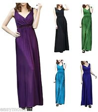 Maternity Evening dress,Baby Shower Wedding Party Gown 8-20,Umstandskleid Purple