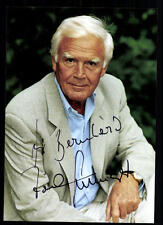 Joachim Fuchsberger Autogrammkarte Original Signiert ## BC 33151