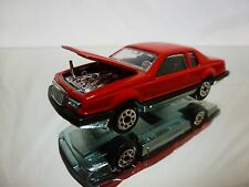 MAJORETTE 217 FORD THUNDERBIRD - RED 1:67 - EXCELLENT CONDITION