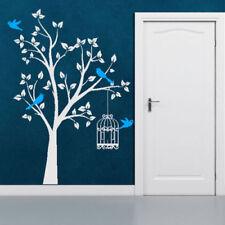 Décorations murales et stickers en miroir pour la chambre
