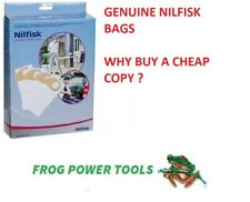 NILFISK BUDDY II PACK OF 4 DUST BAG SET 81943048 Buddy 2 with vat receipt
