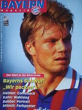 Programm 1996/97 FC Bayern München - FC St. Pauli