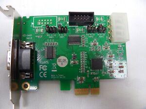 StarTech.com PEX2S553S 1 Port Native PCIe-33 V.2 RS232 Port PCI Serial Card