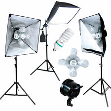 2300W Softbox Photo Studio Video Photography Light Stand Continuous Lighting Kit