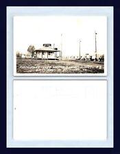 "QUEBEC ST MICHEL DE BELLECHASSE RESTAURANT ""CURB SERVICE"" REAL PHOTO CIRCA 1948"