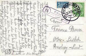 Landpoststempel Edersee über Bad Wildungen 1955