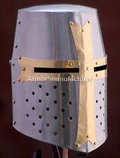 Medieval Crusader Great Knight Armor Helmet Replica Christmas Gift Free