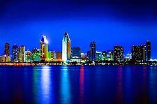Fine Art -San Diego Skyline -Print 3 of 50 -Stephen Starr