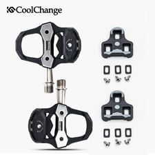 Cycling Riding Road Bike Bicycle Shoes Locked Pedals With Titanium Alloy Spindle
