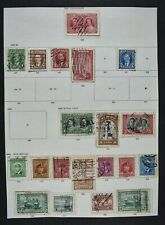 CANADA, a collection on 7 album pages, mainly used condition.