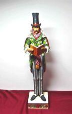 Jim Shore Heartwood Creek Man Caroler Figurine 13-1/2� ©2006