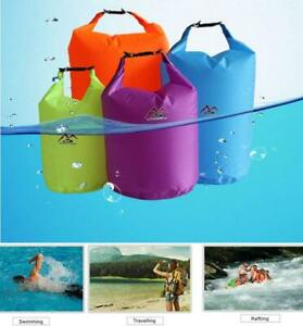 5/10/20/40L Waterproof Dry Bags Sack Canoe Kayak Camping Hiking Cycling Fishing