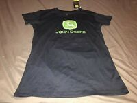John Deere Tank Top Ladies Women Sz Small CLASSIC Green Sleeveless Knit Top