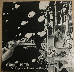 RARE Prog Carpe Diem En Regardant Passer Le Temps Crypto Sealed 1977 French Pres