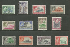 BRITISH SOLOMON ISLANDS SG60-71 THE 1939-51 GVI SET TO 5/- FINE MINT CAT £95