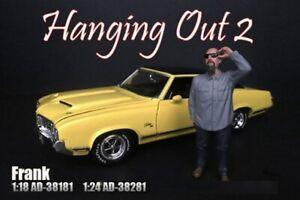 FRANK FIGURE AMERICAN DIORAMA 38181 1/18 DIECAST CAR