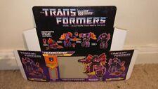 TRANSFORMERS MINDWIPE DECEPTICON G1 SERIES (BOX ONLY)