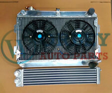 3 ROW RADIATOR & Fans & OIL COOLER FOR MAZDA RX7 SERIES 1 2 3 SA/FB MT 1979-1985
