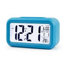 Digital Snooze Alarm Clock Backlight LED Table Clock Time Temperature Calendar