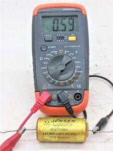 NOS Vintage .047 MFD @   600 VDC Jensen Type OA Capacitor