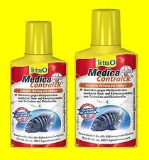 Tetra Medica contralck 2 x 100ml Medicament Against White Spot, I. A. for 800L
