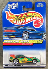 HOT WHEELS ~ SNACK TIME SERIES ~ CORVETTE CALLAWAY C7 ~ GREEN ~ AUTOGRAPHED