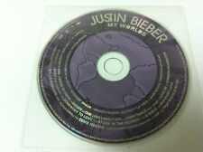 Justin Bieber My Worlds Music CD Album 2010 - DISC ONLY in Plastic Sleeve
