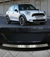 Mini Countryman R60 2010UP Chrome Rear Bumper Protector Scratch Guard S.Steel