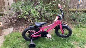 Kids bike 12 inch pink trek precaliber bike