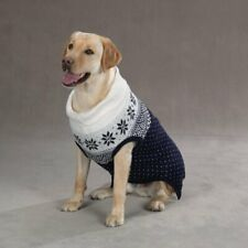 new Zack & Zoey ASPEN SNOWFLAKE Dog Sweater Turtleneck Ribbed XXLarge XXL
