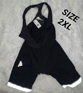 Adidas Supernova Bib Cycling Shorts AZ7350 US Men's Size 2XL NEW