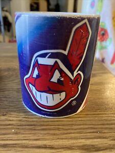 Vintage Coffee Cup Mug  MLB Cleveland Indians Old Logo