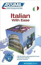 Assimil Language Courses Italian with Ease Italian for English Speakers Book 4CD