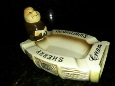 Friar Tuck Monk Advertising McWilliams Cream Sherry Ceramic Ashtray Vintage