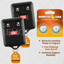 2 New 3B Replacement Keyless Entry Remote Key Car Fob for Ford Lincoln Mercury