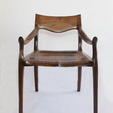 Sam Maloof low back dining chair - walnut furniture