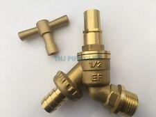 """1/2"""" LOCKSHIELD Outdoor Garden Tap, Outside, removable Key, bib tap, hose union"""
