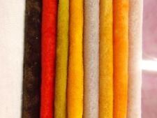 8 Colors Flawed Vintage Long Pile Miniature Mini Bear Velvet Rayon Fur Fabric