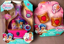 Shimmer & Shine Magic Wishes Jewelry Box Plus Shimmer Pink Bracelets BNIB