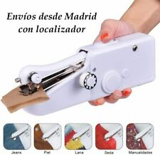 Mini maquina de coser portátil manual + 10 bobinas pequeñas 10 bobinas grandes