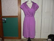Julian Taylor New York Size 10 Purple Dress Cocktail Career Casual Wear