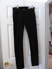 NWOT Rag & Bone High Rise Skinny Black Jeans in Size 29