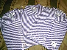 MAINSTREET BLUES Wholesale Lot x 3  SS Shirt Top Blouse sz S 12 14 seersucker