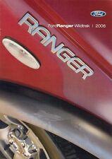 FORD RANGER Wildtrak 2.5 TD double cab 4x4 2005-06 Regno Unito delle vendite sul mercato opuscolo