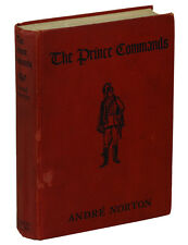 The Prince Commands by ANDRE NORTON ~ First Edition 1934 w/ Signed Bookplate