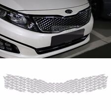 Front Grille Chrome Silver Decal Sticker For KIA 2014-2015 Optima The New K5