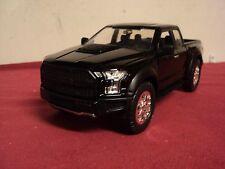 Jada 2017 Ford F-150  Raptor pickup truck new no box Black exterior 1/24
